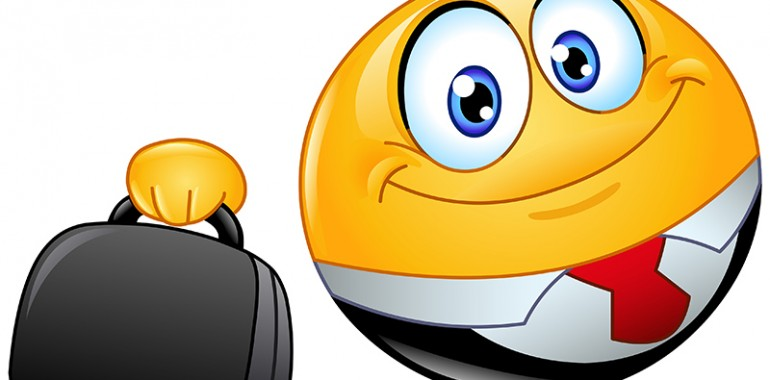 Should Emoticons be used at Work?